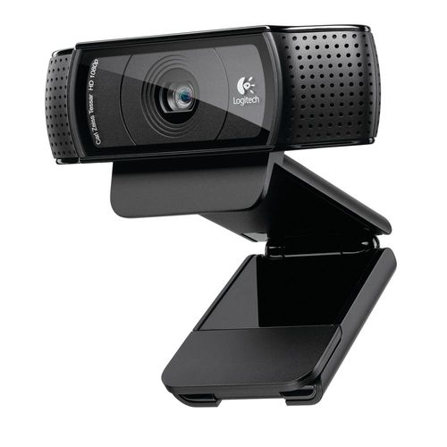 Webcam Logitech C920 Hd 1080p   Hd Pro Webcam   Full Hd Microfone Estereo Lentes Carl Zeiss   Tripe Especial   Usb 1310