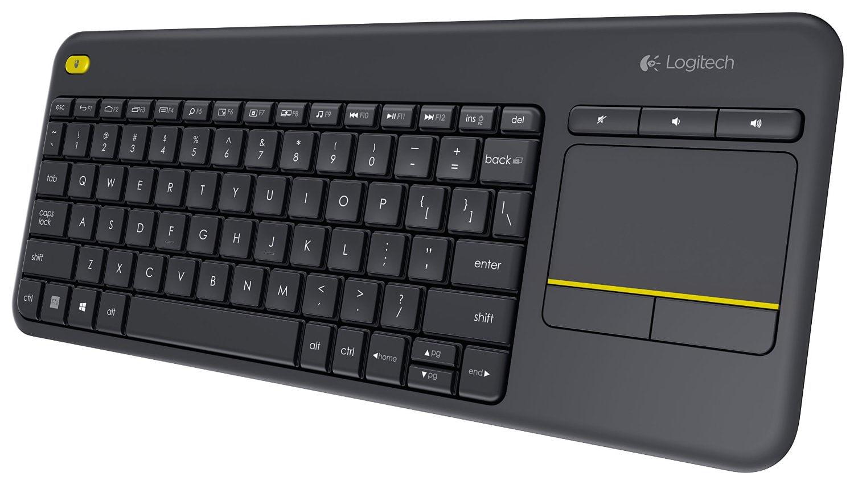 Teclado k400 Plus tv Logitech Bluetooth c / touch sem fio 1746 1746