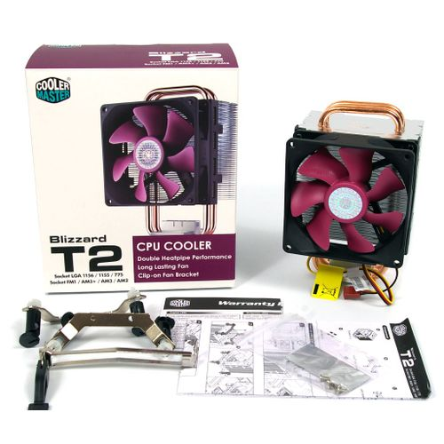 Cooler Para Cpu Blizzard T2 Intel Amd Cooler Master Rr T2 22fp R1 1089 1089