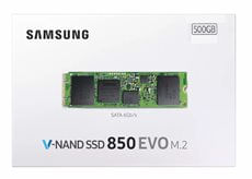 HD SSD 500gb Samsung V - NAND 850 EVO M. 2 SATA 6GB / S - MZ - N5E500BW 1915