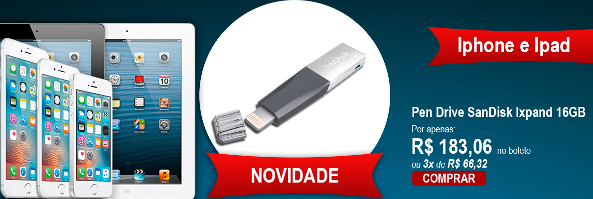 Banner PenDrive Iphone