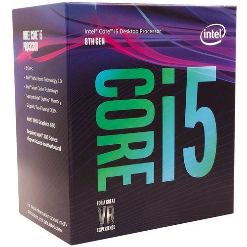 Processador Inter Core I5 8400 Lga 1151 Geraca Cache 9mb 8ghz Intel Uhd Graficos 630   Bx80684i58400 2203