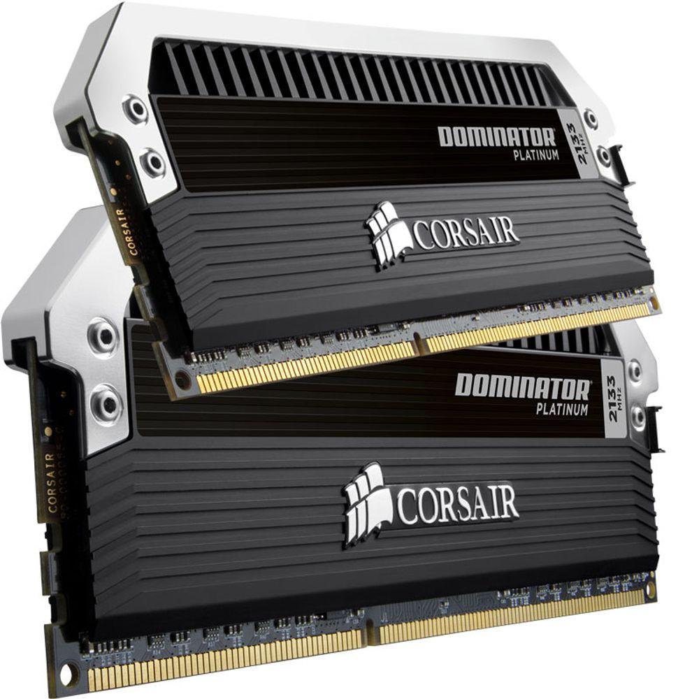 Memória Ram Corsair 8Gb Kit 2X 4Gb Ddr3 2133 Mhz Pc317066 Xmp Domin