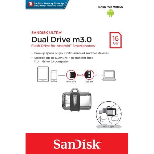 Pen-Drive-SanDisk-16GB-Ultra-Drive-MicroUSB-e-USB-3.0--SDDD3-016G-G46