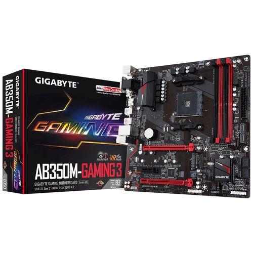 Placa-Mae-Gigabyte-AB350M-Gaming-3-DDR4-para-AMD-AM4-mATX--GA-AB350M-GAMING-3-1