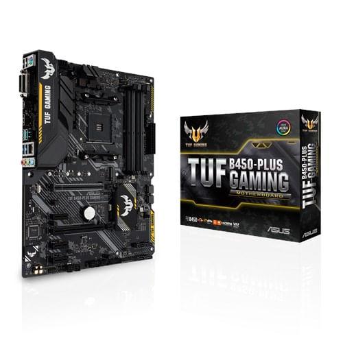 Placa-Mae-Asus-TUF-B450-PLUS-Gaming-AMD-AM4-Matx-DDR4-1