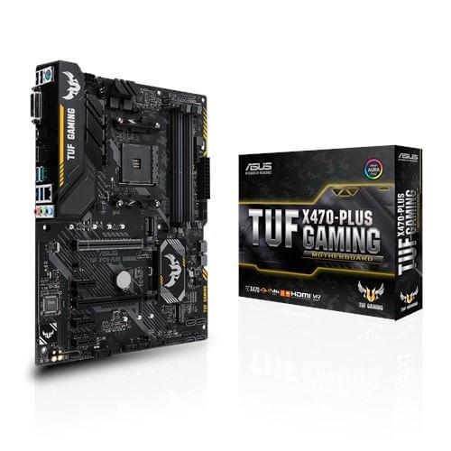Placa-Mae-Asus-TUF-X470-Plus-Gaming-HDMI-AM4-64GB-DDR4--1