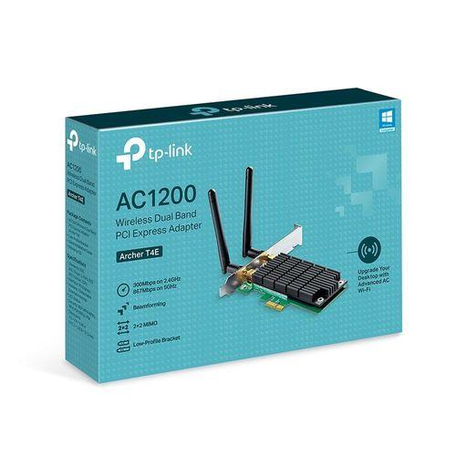 Placa-de-Rede-TP-Link-AC1200-Wireless-Dual-Band-Archer-PCI-Express-T4E